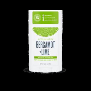 Schmidt's Deodorantti Bergamotti + Lime, Puikko 92g